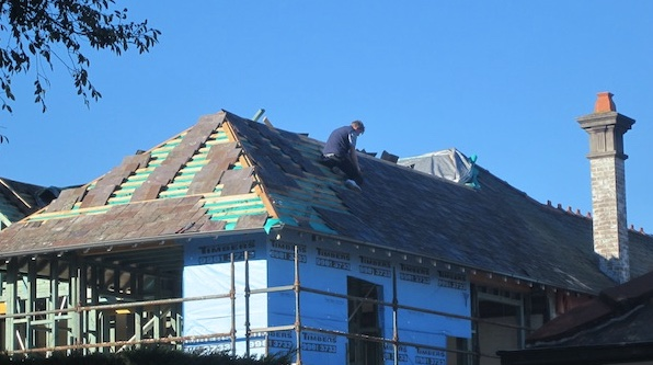 How Long Does It Take To Install A Slate Roof First Class Slate Roofing